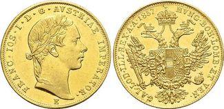 Gold-Dukat 1857 E Haus Habsburg / Österrei...