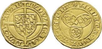 Goldgulden o.Jahr 1440 Pfalz-Kurlinie Ludw...
