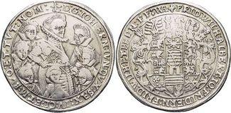 Reichstaler 1617  WA Sachsen-Alt-Weimar Jo...