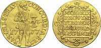 Gold-Dukat 1777 Niederlande-Utrecht, Provinz  Kl.Sf.a.Vs., sehr schön ... 335,00 EUR