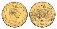 Brandenburg-Preussen Gold-Doppel-Friedrichsd'or Friedrich Wilhelm IV. 1840-1861.