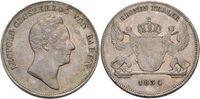 Kronentaler 1834 Baden-Durlach Leopold 1830-1852. Felder geglättet, Pa... 119,00 EUR kostenloser Versand
