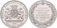 Vereinstaler 1865 Bremen-Stadt  Winz.Kr., vorzüglich - Stempelglanz  179,00 EUR kostenloser Versand