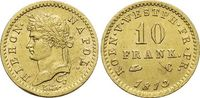 Gold-10 Franken 1813  C Westfalen-Königreich Hieronymus Napoleon 1807-... 1175,00 EUR kostenloser Versand