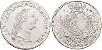 Konventionstaler 1774  PM Jülich-Berg Karl Theodor von Pfalz-Sulzbach ... 445,00 EUR kostenloser Versand
