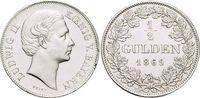 1/2 Gulden 1869 Bayern Ludwig II. 1864-1886. Kl.Sf.a.Rd., vorzüglich - ... 159,00 EUR kostenloser Versand