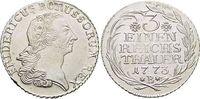 1/3 Taler 1773  B Brandenburg-Preussen Friedrich II. 1740-1786, Münzstä... 275,00 EUR kostenloser Versand