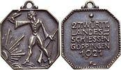 Bronze 1921 Württemberg-Göppingen, Stadt  Mit Original-Oese, selten, vo... 115,00 EUR kostenloser Versand