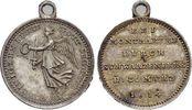 1814 Krieg und Frieden Befreiungskriege Mit angeprägter Oese, selten, ... 125,00 EUR