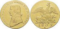 Gold-Friedrichsd'or 1809  A Brandenburg-Preussen Friedrich Wilhelm III... 1975,00 EUR kostenloser Versand