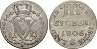 3 Stüber 1 1806  S Berg-Herzogtum Maximilian Joseph von Pfalz-Birkenfel... 29,00 EUR  zzgl. 3,00 EUR Versand