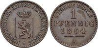 CU-Pfennig 1864  A Reuss-Jüngerer Linie vereinigt seit 1848 Heinrich LX... 15,00 EUR  zzgl. 3,00 EUR Versand