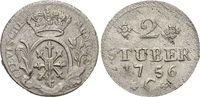 2 Stüber 1 1755  C Brandenburg-Preussen Friedrich II. 1740-1786, Münzst... 19,00 EUR  zzgl. 3,00 EUR Versand
