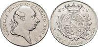 Konventionstaler 1778  H Baden-Durlach Karl Friedrich 1738-1806. Winz.... 445,00 EUR kostenloser Versand