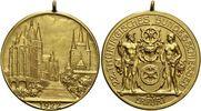 Vergoldete Bronze-Medaille 1922 Erfurt-Stadt  Mit Original-Oese, vorzüg... 165,00 EUR kostenloser Versand