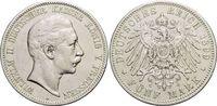 5 Mark 1899  A Preußen Wilhelm II. 1888-1918. Kl.Rf., sehr schön  29,00 EUR  zzgl. 3,00 EUR Versand