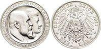 3 Mark 1911  F Württemberg Wilhelm II. 1891-1918. Min.Rf., fast Stempel... 55,00 EUR  zzgl. 3,00 EUR Versand