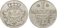 Mariengroschen 1752  F Brandenburg-Preussen Friedrich II. 1740-1786, Mü... 125,00 EUR kostenloser Versand