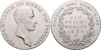 Taler 1814  A Brandenburg-Preussen Friedrich Wilhelm III. 1797-1840. K... 279,00 EUR kostenloser Versand
