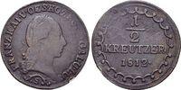 CU-1/2 Kreuzer 1812  S Haus Habsburg / Österreich Franz II.(I.) 1792-18... 12,00 EUR  zzgl. 3,00 EUR Versand