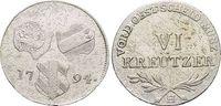 Für Vorderösterreich, 6 Kreuzer 17 1794  H Haus Habsburg / Österreich F... 19,00 EUR  zzgl. 3,00 EUR Versand