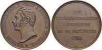 Bronze-Medaille 1846 Schwarzburg-Sondershausen Günther Friedrich Karl I... 255,00 EUR kostenloser Versand