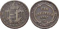 CU-Kreuzer 1772  G Haus Habsburg / Österreich Maria Theresia 1740-1780.... 29,00 EUR  zzgl. 3,00 EUR Versand