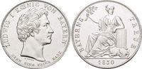 Geschichtstaler 1830 Bayern Ludwig I. 1825-1848. Min.Sf.a.Vs., vorzügl... 645,00 EUR kostenloser Versand
