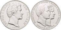Geschichtsdoppeltaler 1842 Bayern Ludwig I. 1825-1848. Winz.Kr., vorzüg... 585,00 EUR kostenloser Versand