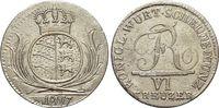 6 Kreuzer 1807 Württemberg Friedrich I. 1806-1816. Kl.Sf., 3+ 3+  22,00 EUR  zzgl. 3,00 EUR Versand