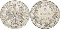 Doppelgulden 1848 Frankfurt-Stadt  Min.Rf., fast vorzüglich  189,00 EUR kostenloser Versand