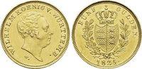 Gold-5 Gulden 1825  W Württemberg Wilhelm...