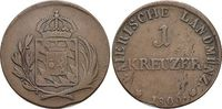 Für Tirol, CU-Kreuzer 1 1806 Bayern Maximilian I. Joseph 1806-1825. Kl... 69,00 EUR  zzgl. 3,00 EUR Versand