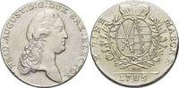 Konventionstaler 1785 Sachsen-Albertinische Linie Friedrich August III.... 195,00 EUR kostenloser Versand