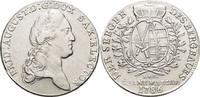 Ausbeute-Konventionstaler 1786 Sachsen-Albertinische Linie Friedrich Au... 445,00 EUR kostenloser Versand