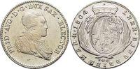 1/6 Taler 1804 Sachsen-Albertinische Linie Friedrich August III. 1763-1... 59,00 EUR  zzgl. 3,00 EUR Versand