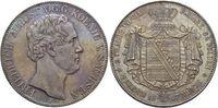 Doppeltaler 1847  F Sachsen-Albertinische Linie Friedrich August II. 18... 395,00 EUR kostenloser Versand