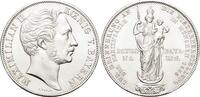 Doppelgulden 1855 Bayern Maximilian II. Joseph 1848-1864. Gereinigt, mi... 195,00 EUR kostenloser Versand