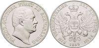 Vereinstaler 1859 Schwarzburg-Rudolstadt Friedrich Günther 1807-1867. K... 229,00 EUR kostenloser Versand