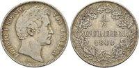 1/2 Gulden 1844 Bayern Ludwig I. 1825-1848. sehr schön  25,00 EUR inkl. gesetzl. MwSt., zzgl. 3,00 EUR Versand