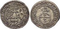 3 Kreuzer 1670 Deutscher Orden Johann Caspar von Ampringen 1664-1684. M... 59,00 EUR  zzgl. 3,00 EUR Versand
