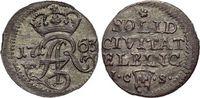Schilling 1763 Elbing-Stadt August III. 1733-1763. vorzüglich +  79,00 EUR  zzgl. 3,00 EUR Versand