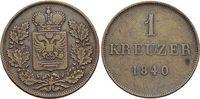 CU-1 Kreuzer 1840 Schwarzburg-Rudolstadt Friedrich Günther 1807-1867. s... 17,00 EUR  zzgl. 3,00 EUR Versand
