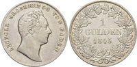 Gulden 1845 Baden-Durlach Leopold 1830-1852. sehr schön - vorzüglich  49,00 EUR  zzgl. 3,00 EUR Versand
