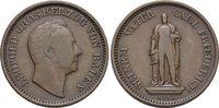 CU-Gedenkkreuzer 1844 Baden-Durlach Leopold 1830-1852. sehr schön  12,00 EUR  zzgl. 3,00 EUR Versand