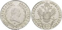 20 Kreuzer 1820  A Haus Habsburg / Österreich Franz II.(I.) 1792-1835. ... 19,00 EUR  zzgl. 3,00 EUR Versand