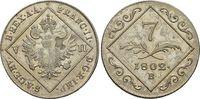 7 Kreuzer 1802  B Haus Habsburg / Österreich Franz II.(I.) 1792-1835. s... 19,00 EUR  zzgl. 3,00 EUR Versand