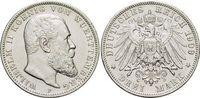 3 Mark 1909  F Württemberg Wilhelm II. 1891-1918. Kl.Rf., fast vorzügli... 28,00 EUR  zzgl. 3,00 EUR Versand