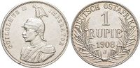 Rupie 1908  J Deutsch-Ostafrika  Kl.Sf.a.Rd., vorzüglich  139,00 EUR kostenloser Versand