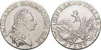 Taler 1786  A Brandenburg-Preussen Friedrich II. 1740-1786, Münzstätte ... 189,00 EUR kostenloser Versand
